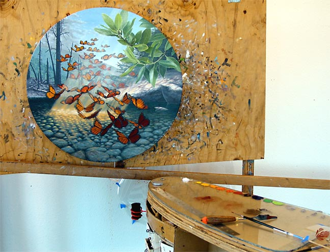 Bill Martin Gallery ~ In the Studio
