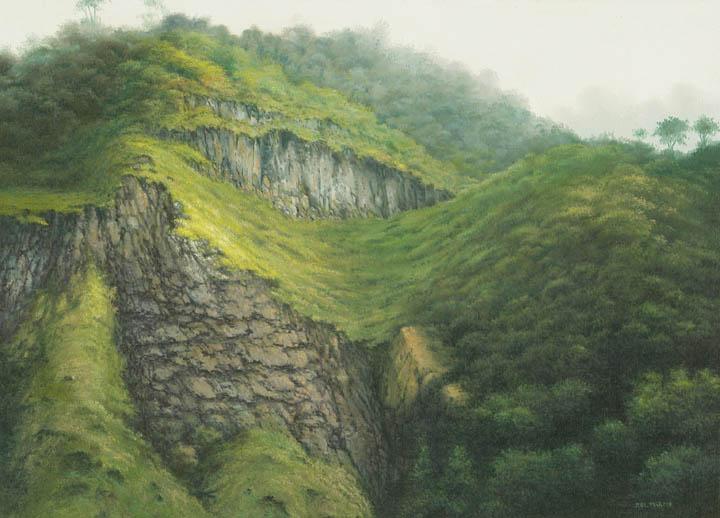 Ecuadorian Cliff
